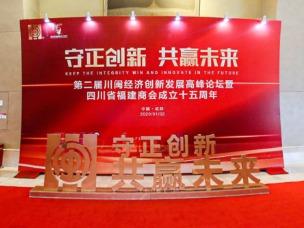 川闽经济创新发展高峰论坛背景墙